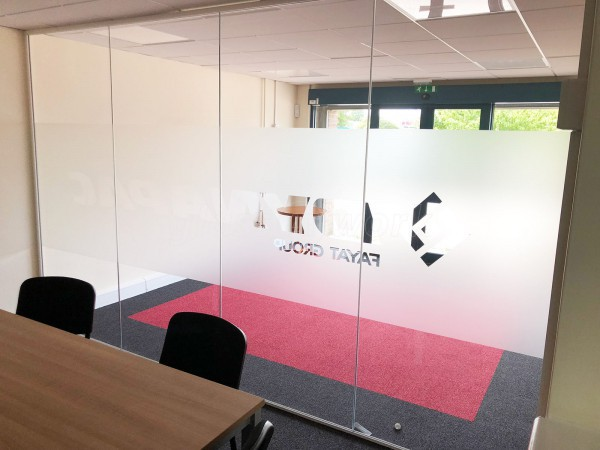 Dynapac (Rugby, Warwickshire): Glazed Office Partition Fit-Out