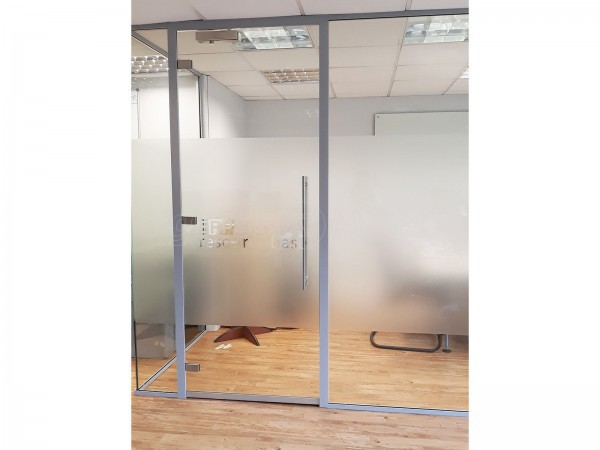 ERP Resource Base (Greenwich, London): Three Sided Glass Room With Framed Glass Door