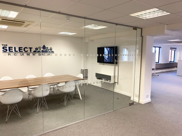 Select Offshore (Billericay, Essex): Toughened Safety Glass Partition Wall & Door