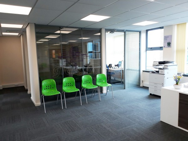 Carlisle & Eden Citizens Advice (Carlisle, Cumbria): Double Glazed Partitions With Integrated Blinds For Privacy