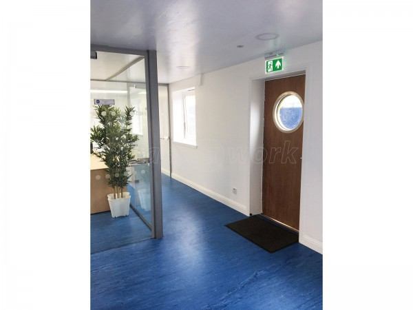 Dales Marine Services / Garvel Clyde (Greenock, Renfrewshire): Glass Office Walls and Doors