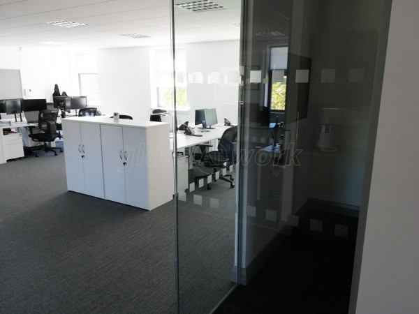 Heron Bros (Central Glasgow, Lanarkshire): Glass Office Fit-Out With Five Acoustic Partition Walls