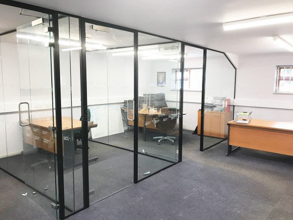 Business Savings Experts (Harpenden, Hertfordshire): Glass Office Walls With Black Frame