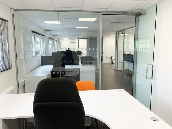 HireACamera.com Ltd (Mayfield, Sussex): Office Glass Screens and Doors