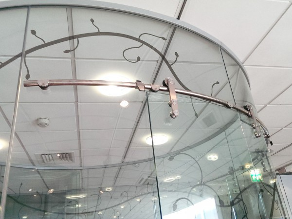 Curved Glass Walls