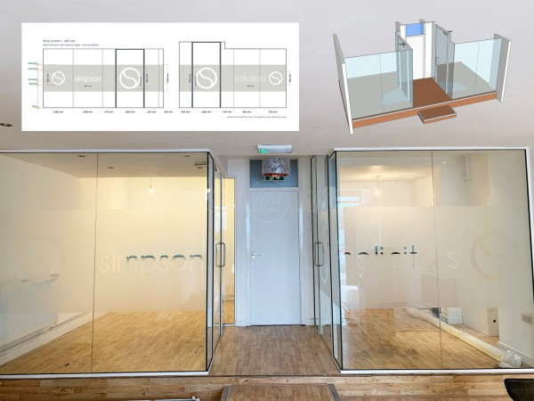 JBD Law Ltd (Bristol, Somerset): Glass Acoustic Offices Installed With Bespoke Window Film