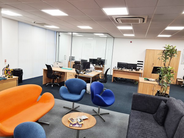 KMP Solutions (Edgeware Road, London): Glass Office Fit-out With Double and Single Glazed Acoustic Offices and Meeting Rooms