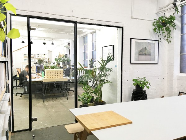 Kennedy Woods Architecture (Southwark, London): Small Glazed Office Wall Partition