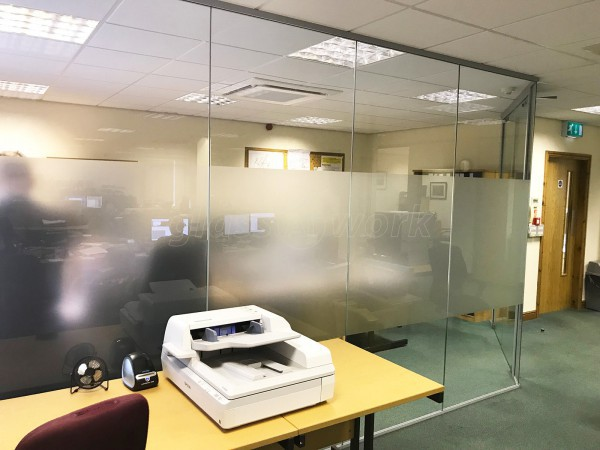 LSTC Group (Driffield, East Yorkshire): Glazed Corner Room With Soundproofing & Window Film