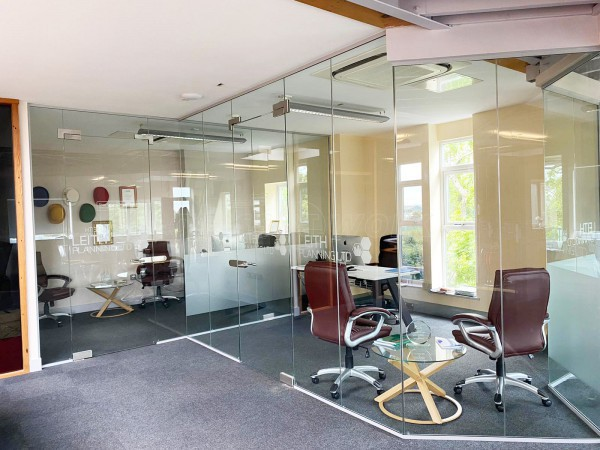 Leith Planning Group (Kirkham, Lancashire): Toughened Glass Office Installation
