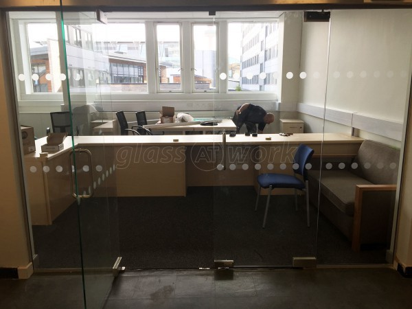 Hightown Group (Everton, Liverpool): Glass Partitions With Frameless Doors