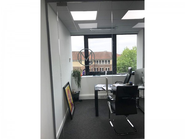 Woolbro Morris Ltd (Finchley, London): Glass Partition Office Fit-Out in London