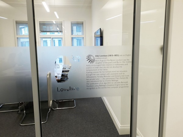 Kiwi Power/Dant Properties (London): Glass Partitions With Doors and Window Film