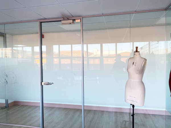 Pivot Framed Glass Doors