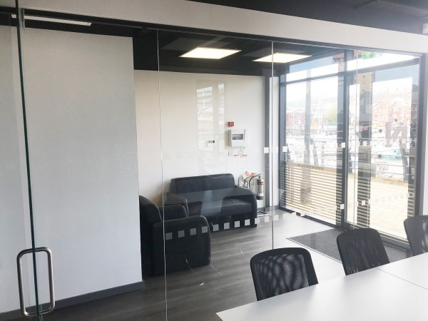 NetBop Technologies Ltd (Swansea, Wales): Frameless Glass Office Screens
