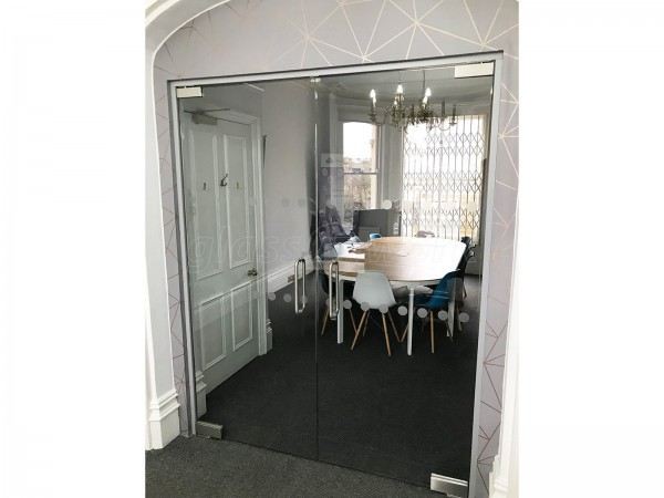 The Werks Group (Brighton, East Sussex): Office Glass Double Doors in Archway