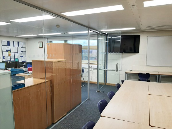 Pathfinder Schools (Rothwell, Northamptonshire): Fully Installed Glass Walled Office Space