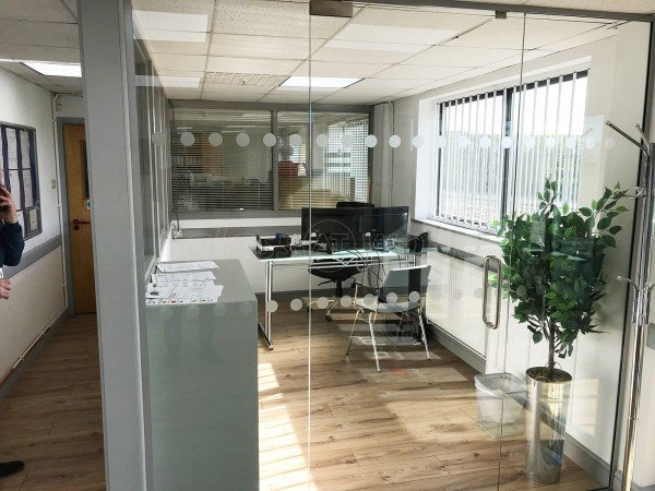 Project Fire (Hixon, Staffordshire): Toughened Safety Glass Office Partitions