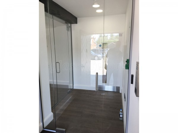 PEP Project Management Ltd (Braintree, Essex): Office Fit-Out With Frameless & Acoustic Framed Partitioning