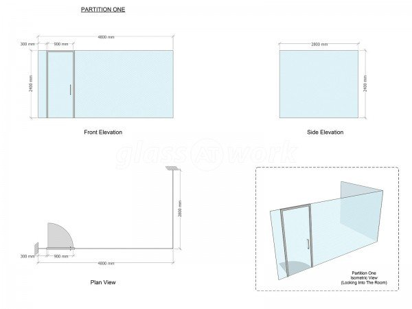 Rate Validation Services (The City, London): Glass Corner Room With Acoustic Glazed Partitioning