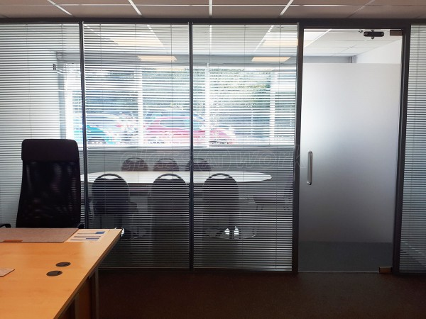 Riverside Vineyard Church (Whitstable, Kent): Double Glazed Partitions Integral Venetian Blinds