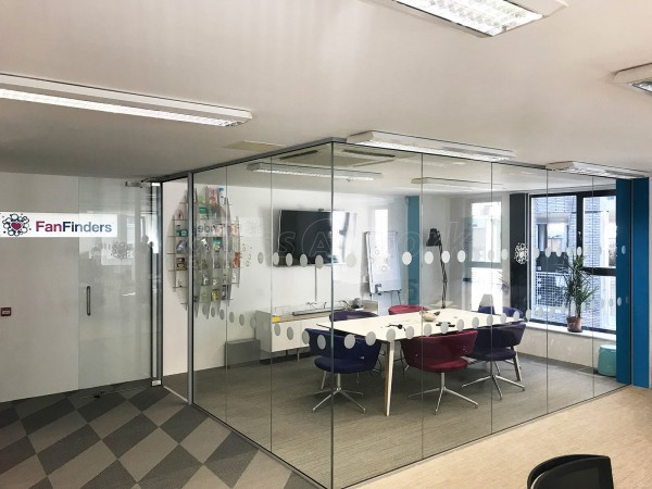 Fanfinders Ltd (Shoreditch, London): Corner Room, Acoustically Glazed With Framed Door