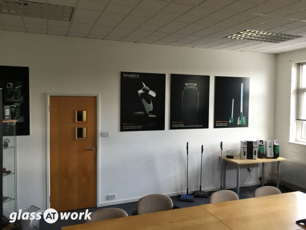 Smallfry (Coventry): Glass Partitioning and Glass Door