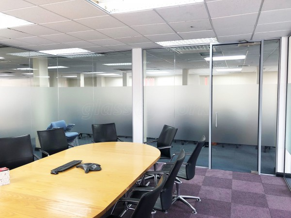 Sovereign Automotive Ltd (Epsom, Surrey): Acoustic Glass Office Wall With Soundproofing