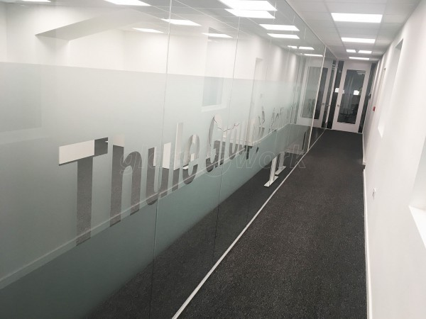Thule Outdoor Limited (Haverhill, Suffolk): Bespoke Window Film