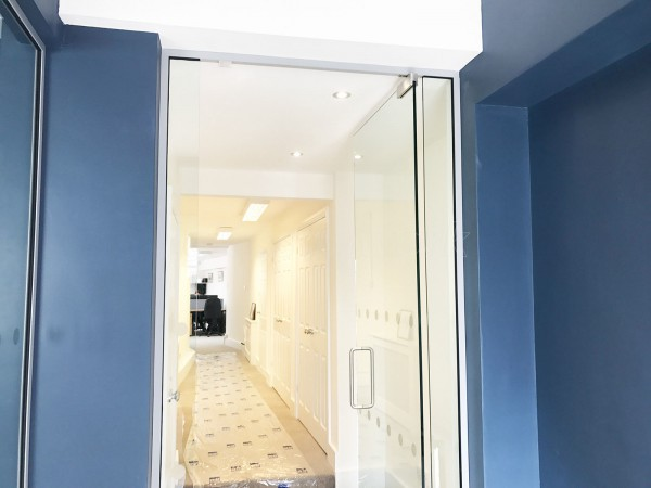 Bray Wealth Management (Woking, Surrey): Glass Office Screens And Doors