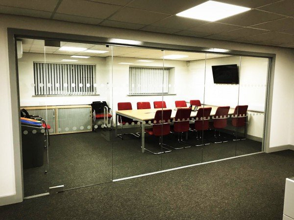T G Beighton Limited (Telford, Shropshire): Multiple Inline Glazed Partitions For Offices & Foyer