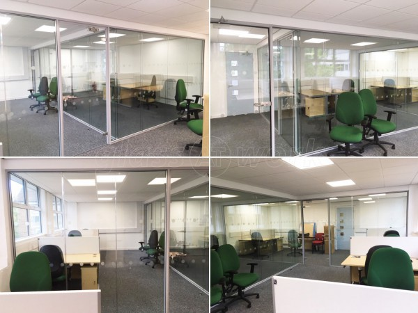 Thomas and Sons [Construction] Limited (University Park, Nottingham): Double Glazed Frameless Glass Partition Walls
