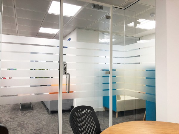 Whishworks (Windsor, Berkshire): Interior Toughened Glass Office Walls