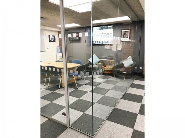 Rescom Ltd (Worsley, Manchester): Acoustic Glass Corner Office