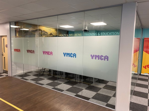 YMCA Northumberland (Ashington, Northumberland): Glass Corner Room With Laminated Glass For Soundproofing
