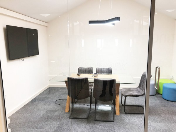 Zinc Digital (Little Houghton, Northampton): Toughened Glass Partition & Glazed Office Divider Screen