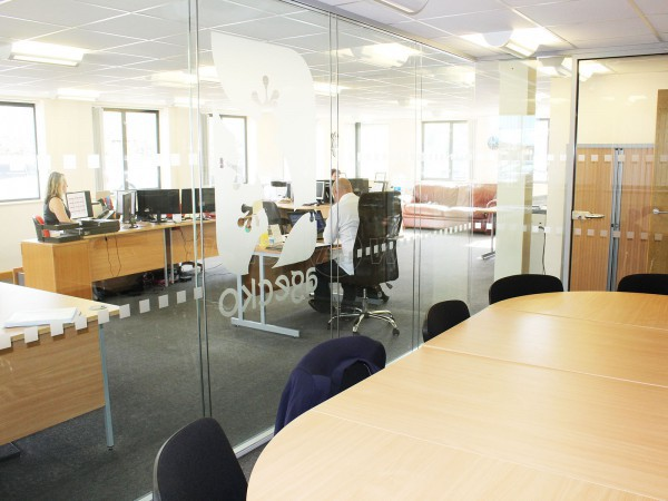 Agecko UK Ltd (Easingwold, North Yorkshire): Double Glazed Acoustic Glass Partitioning