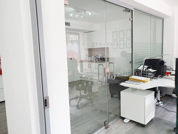 Adiva Accountants Ltd (Bromley, London): Glass Office Refurbishment With Acoustic Glazing