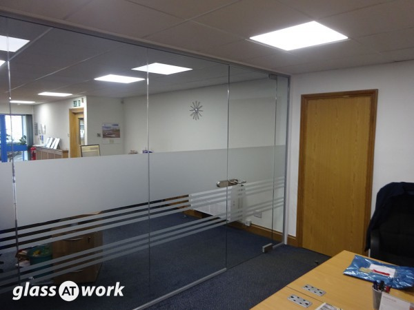 Airkool Contracts Ltd (Holderness, Kingston upon Hull): Single Glazed Partitioning