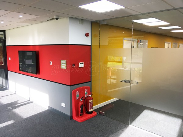 LNS Turbo UK Ltd (Barnsley, South Yorkshire): Glass Partition Interior Office Wall