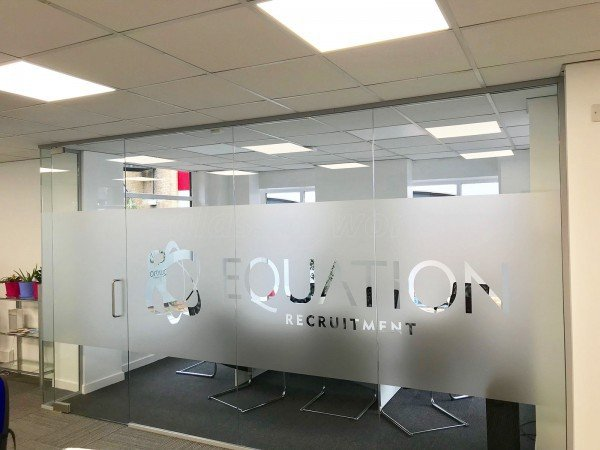 Equation Recruitment (Bicester, Oxfordshire): Glass Corner Office Partitioning