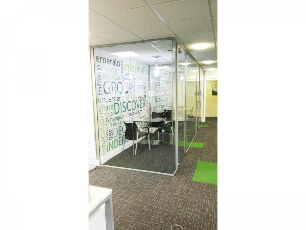 Emerald Group (Bingley, West Yorkshire): Acoustic Glass Office Partitions / Office Pods