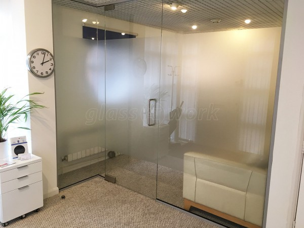 FM Family Law (Cambridge): Interior Glass Office Wall and Door
