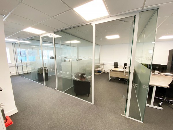Capital Cooling (Livingston, West Lothian): Multiple Glass Office Partition Fit-out