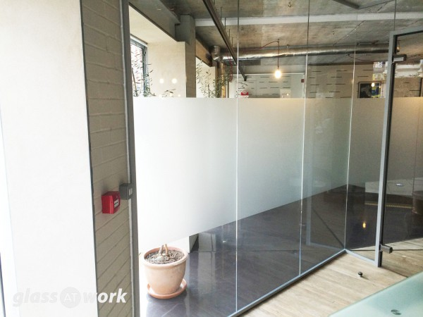 Crosta & Mollica (London): Glass Corner Room