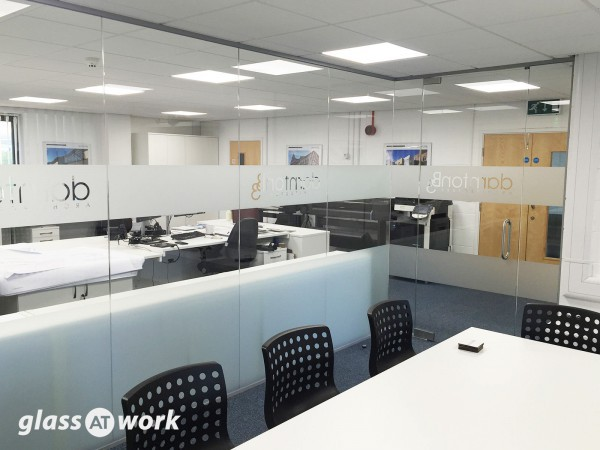 DarntonB3 Architecture (Loughborough, Leicestershire): Glass Partitioning