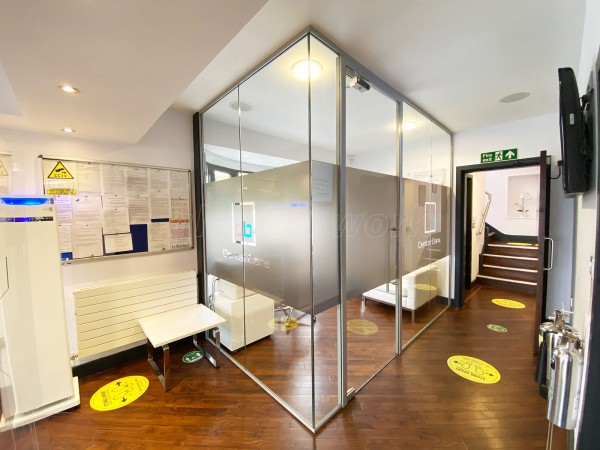 Darren Bywater Dental Care (Derby, Derbyshire): Laminated Acoustic Glazed Office For A Dentist Surgery