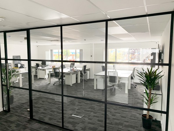 Decran Ltd (Newbury, Berkshire): T-Bar Industrial Style Acoustic Glazing