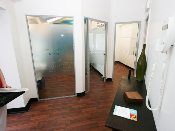 GMC Building Contractors Ltd (Berwick, Northumberland): Glass Doors For A Dental Practice