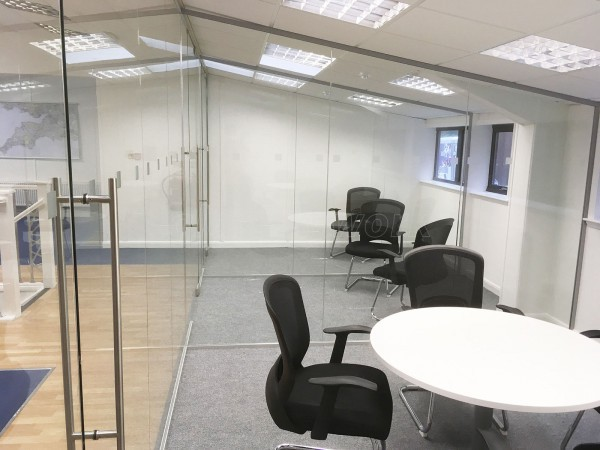 SWYM (Woodbury Salterton, Exeter): Glass Office Partitions